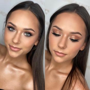Professional Makeup Veronica Fritsch, makijaż ślubny w stylu gwiazd, Makijaż ślubny, uroda Mikołów