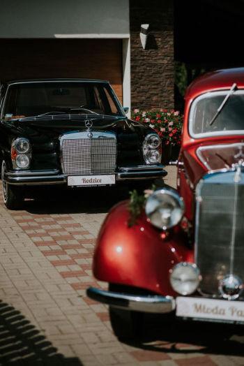 Zabytkowe Mercedesy 1950r i 1967r do Ślubu !!! IDEAŁY !!!, Samochód, auto do ślubu, limuzyna Słupsk