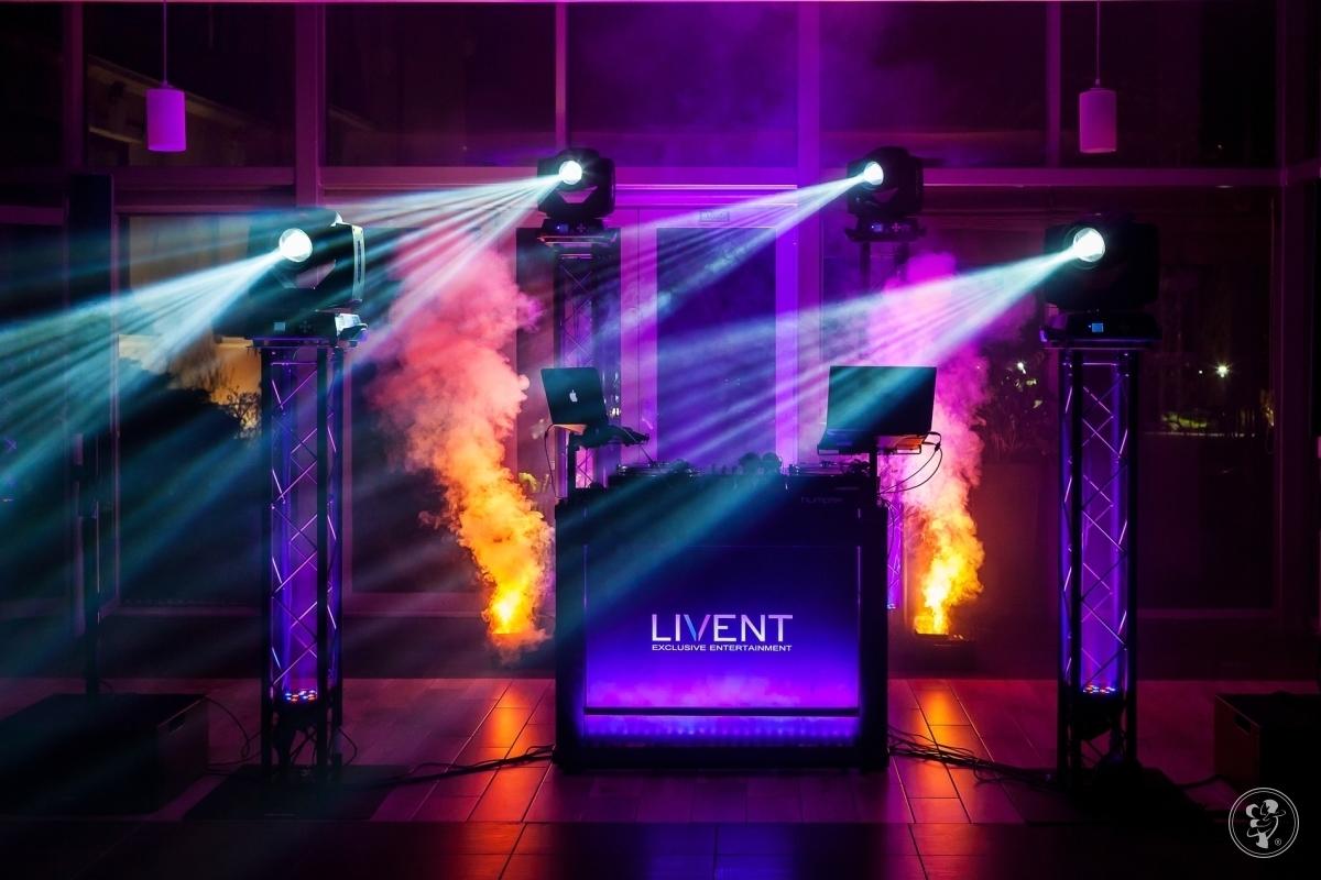 LIVENT -  | DJ NA WESELE | LIVEACT | CIĘŻKI DYM | DEKORACJE ŚWIATŁEM, Bydgoszcz - zdjęcie 1