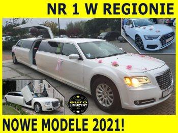 Euro Limuzyny ❤️luksusowe NOWE 300C⭐ Audi BMW Mercedes Cadilac Autokar, Samochód, auto do ślubu, limuzyna Rypin