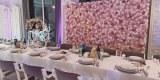 Ścianka kwiatowa tło za Parą Młodą na wesele, Konin - zdjęcie 3