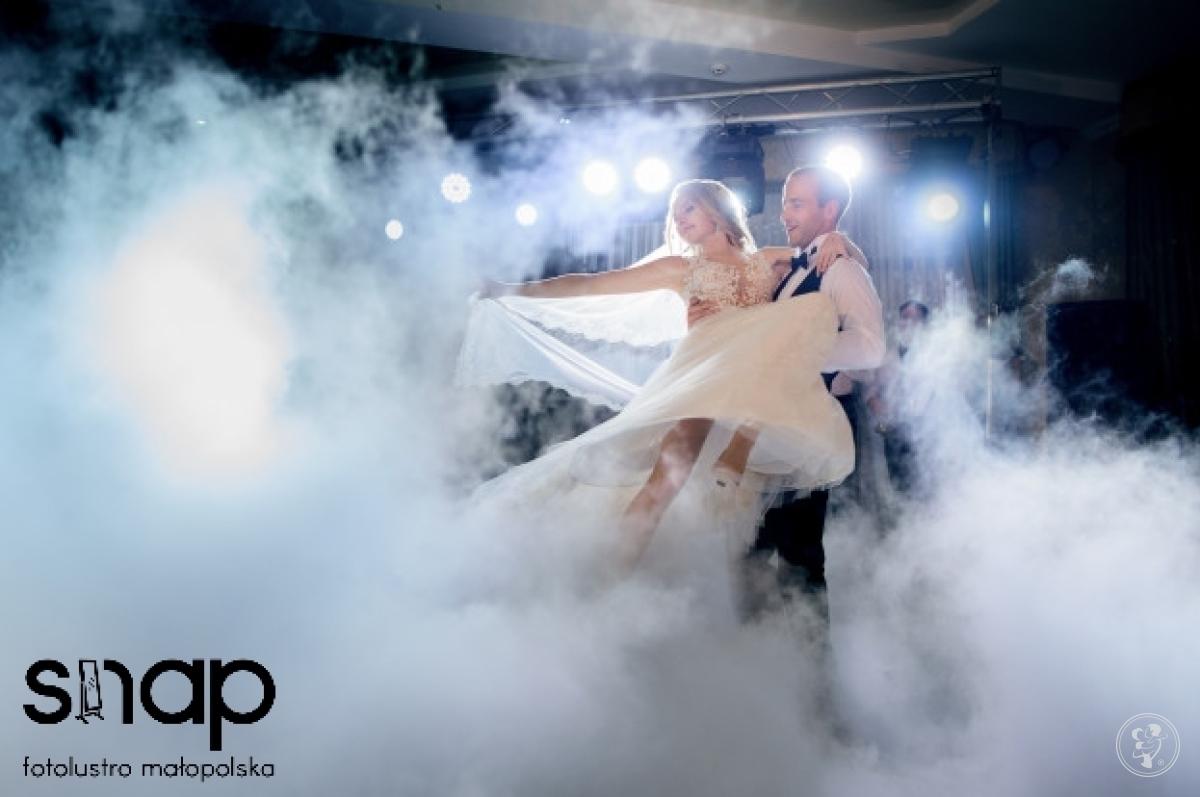 CIĘŻKI DYM, pierwszy taniec w chmurach - 450zł. Fotolustro Fotobudka, Limanowa - zdjęcie 1
