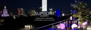 Support Agency Nagłośnienie Oświetlenie Multimedia, Dekoracje światłem Pruszków
