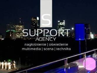 Support Agency Nagłośnienie Oświetlenie Multimedia,  Warszawa