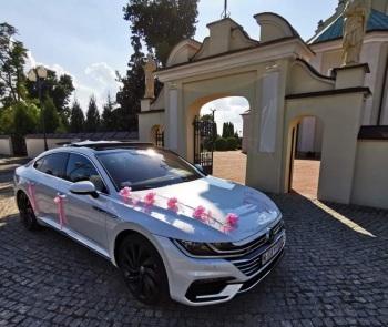 Nowy Arteon do Ślubu-najbogatsza wersja, gwarancja satysfakcji i ceny!, Samochód, auto do ślubu, limuzyna Sulejów