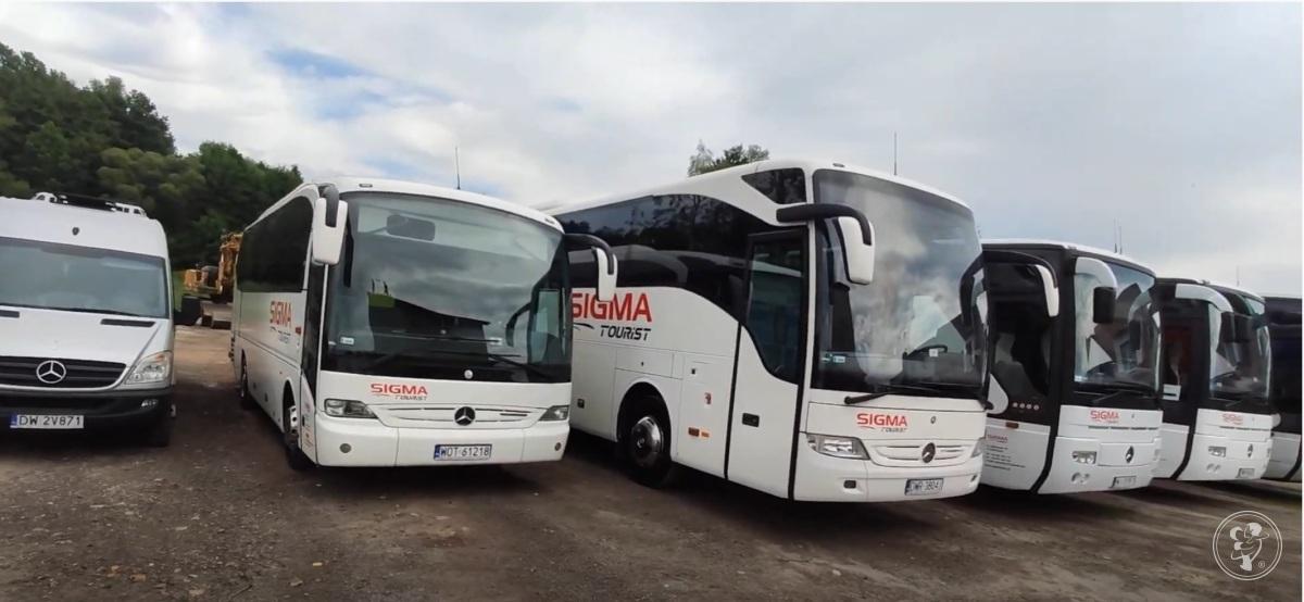 SIGMATOURIST autokary limuzyna autokar bus przewóz transport autobus, Katowice - zdjęcie 1