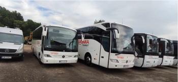 SIGMATOURIST autokary limuzyna autokar bus przewóz transport autobus, Wynajem busów Czeladź