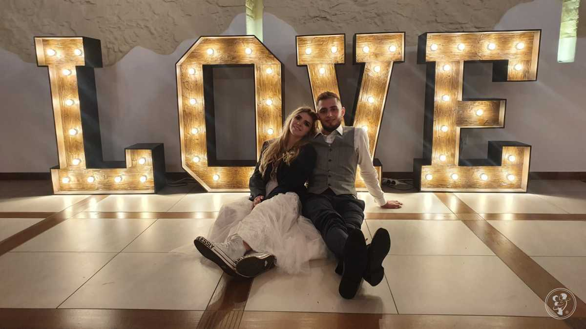 Napis rustykalny Miłość, napis Love rustykalny, Stół SWEET, Stół Love, Legnica - zdjęcie 1