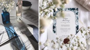Cariño Wedding | Zaproszenia ślubne | piękna papeteria |