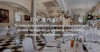 Dwór Hubertus sala na wesele, sala bankietowa, sala kominkowa, ślub w , Sale weselne Toszek