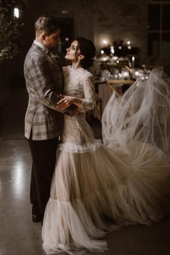 Romantyczna fotografia ślubna