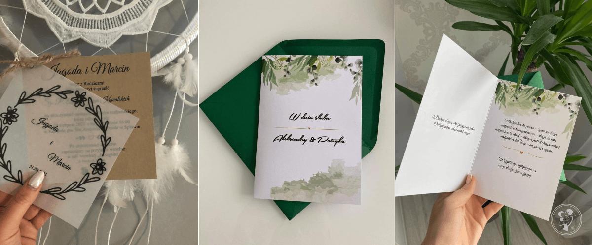 Projekt Szczęście - zaproszenia ślubne, Nowy Targ - zdjęcie 1