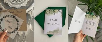 Projekt Szczęście - zaproszenia ślubne, Zaproszenia ślubne Czchów