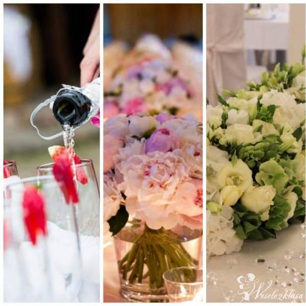 Butonierka dekoracje ślubne, florystyka ślubna, Świebodzice - zdjęcie 1