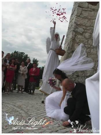 Aniołki na Ślubie Szczudlarze Azislight, Anioły na szczudłach Dąbrowa Górnicza