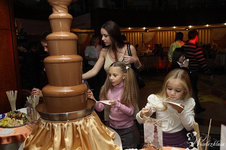 Fontanna czekoladowa, czekoladowa fontanna, Katowice - zdjęcie 1
