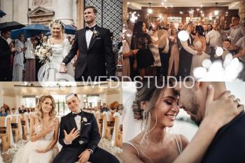 WEDDSTUDIO - Your Love Story. I 4k I Dron I 2 - 4 operatorów. Vid+Foto, Kamerzysta na wesele Oświęcim