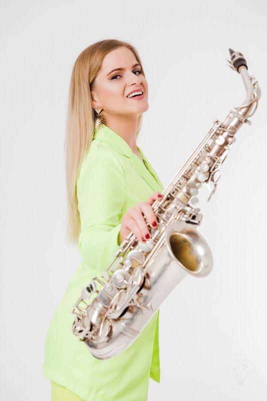 Saksofonistka wesele, ślub, event/ saksofon / saksofonista / flet, Warszawa - zdjęcie 1