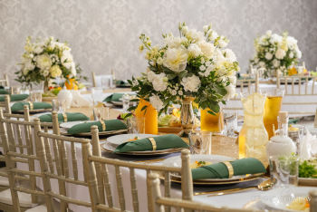 Wynajem krzeseł- KRZESŁA WESELNE bankietowe CHIAVARI -kolor szampański, Dekoracje ślubne Pleszew