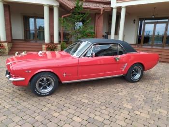 Mustangiem do slubu., Samochód, auto do ślubu, limuzyna Kleszczele