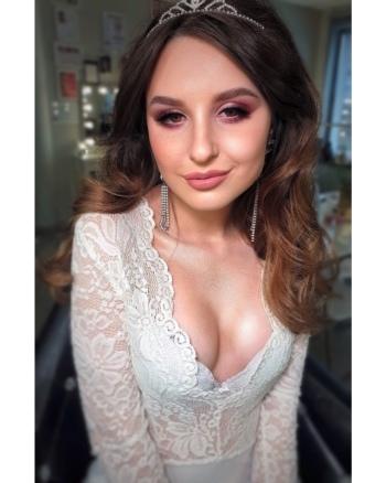 Profesjonalny makijaż Kinga Urbaniak, Makijaż ślubny, uroda Kłobuck