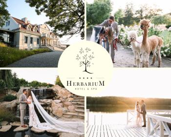 Herbarium Hotel & Spa Twój ślub jak z bajki.