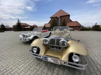 Auta do ślubu RETRO - Mercedes & Morgan, Samochód, auto do ślubu, limuzyna Mysłowice