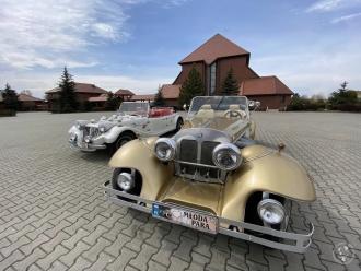 Auta do ślubu RETRO - Mercedes & Morgan,  Zabrze