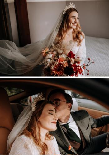 Makijaż i fryzura ślubna z dojazdem