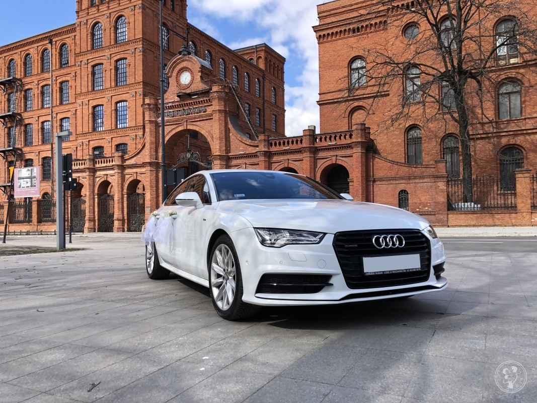 Auto Samochód do ślubu, Audi A7, Łódź - zdjęcie 1