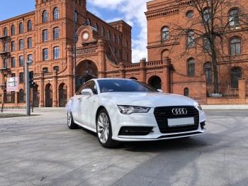Auto Samochód do ślubu, Audi A7, Samochód, auto do ślubu, limuzyna Łęczyca