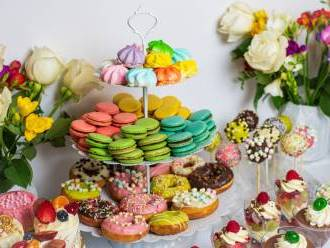 Tort weselny, ślubny , ciasta weselne, słodki kącik , candy bar, Tort weselny Kraków