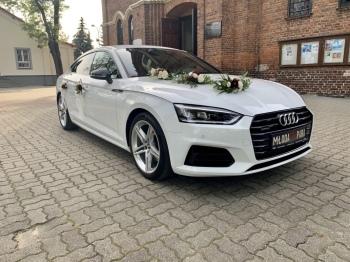 Auto do Ślubu Samochód do ślubu Auto AUDI A5 Samochód Limuzyna na ślub