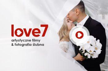 love7 ❤️ nakręć się na miłość! Artystyczny, dynamiczny film weselny :), Kamerzysta na wesele Słupsk