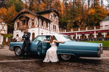 Cadillac DeVille 1966 - luksusowy, legendarny , V8 rodem z USA, Samochód, auto do ślubu, limuzyna Busko-Zdrój
