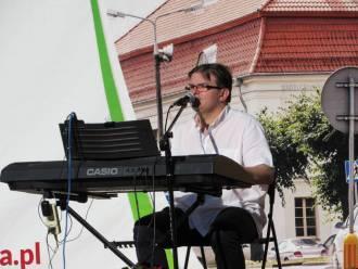 Człowiek-Orkiestra Piotr Marlęga,  Mława