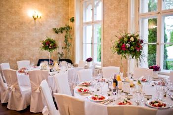 Pałac Brzeźno zjawiskowe wesele w pałacowych ogrodach