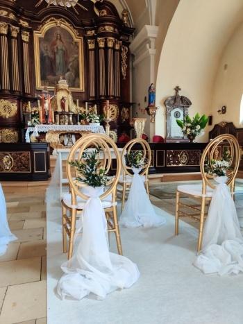 Tip Top Dekor - Dekoracje  ślubne sali, kościoła ,plener, florystyka