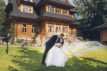 Kameralny ślub w Willi Elżbiecina, Sale weselne Piwniczna-Zdrój