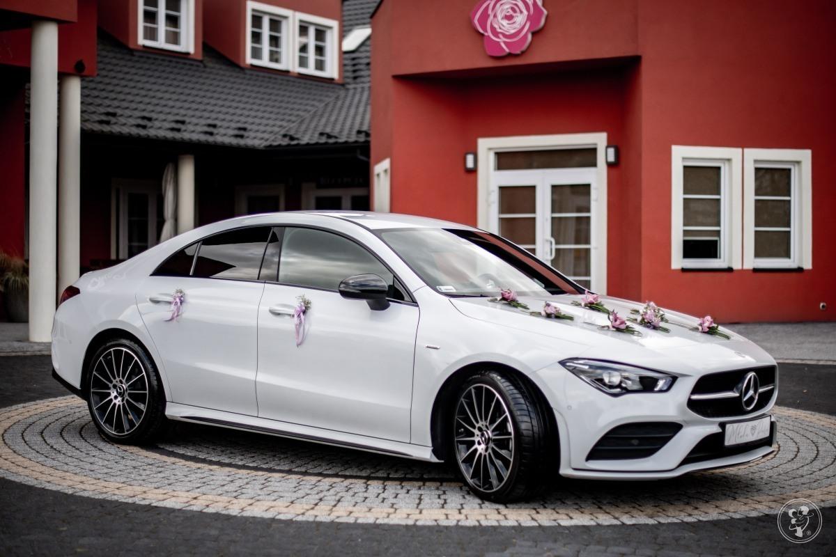 Wymarzony samochód do ślubu. Najnowszy Mercedes CLA AMG 4MATIC, Zawiercie - zdjęcie 1