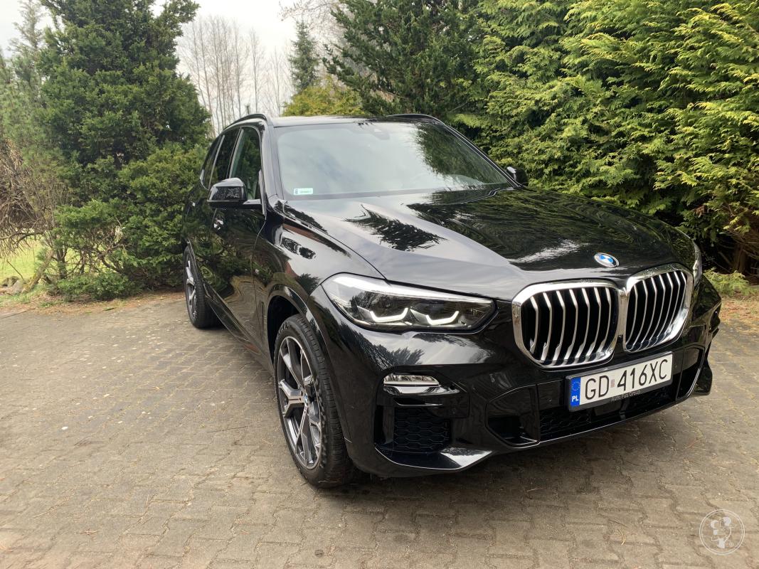 Nowe Czarne BMW X5 MSport * BIAŁY SKÓRY  *, Rumia - zdjęcie 1