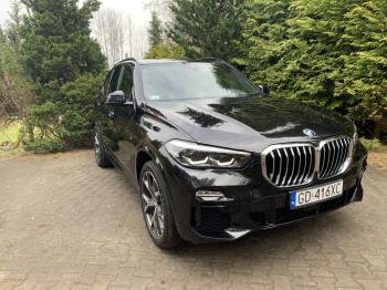 Nowe Czarne BMW X5 MSport * BIAŁY SKÓRY  *, Samochód, auto do ślubu, limuzyna Krynica Morska