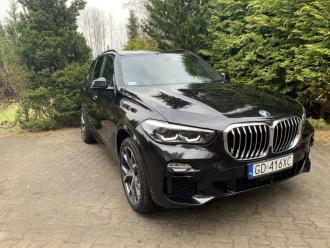 Nowe Czarne BMW X5 MSport * BIAŁY SKÓRY  *,  Rumia
