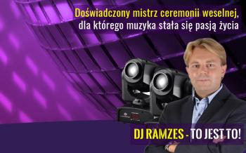 DJ RAMZES - dj prezenter wodzirej na twoje wesele, DJ na wesele Czempiń