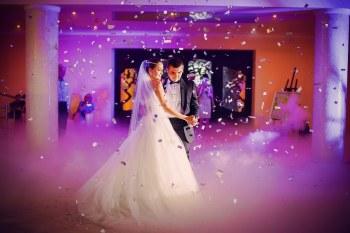 Ciezki DYM - Taniec w chmurach!!! Napis LOVE, Artykuły ślubne Gdańsk