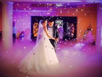 Ciezki DYM - Taniec w chmurach!!! Napis LOVE,  Rumia