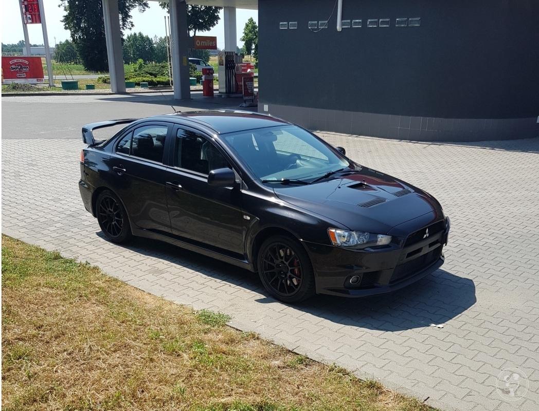 Rajdowo do ślubu - samochód Mitsubishi Lancer Evo 420KM, auto do ślubu, Wrocław - zdjęcie 1