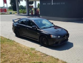 Rajdowo do ślubu - samochód Mitsubishi Lancer Evo 420KM, auto do ślubu, Samochód, auto do ślubu, limuzyna Wołów