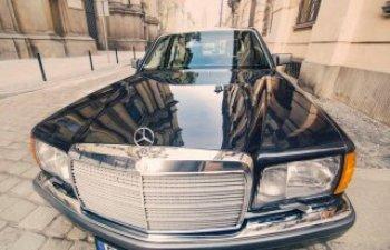 Mercedes 560 SEL Limuzyna do ślubu UNIKAT!, Samochód, auto do ślubu, limuzyna Bystrzyca Kłodzka