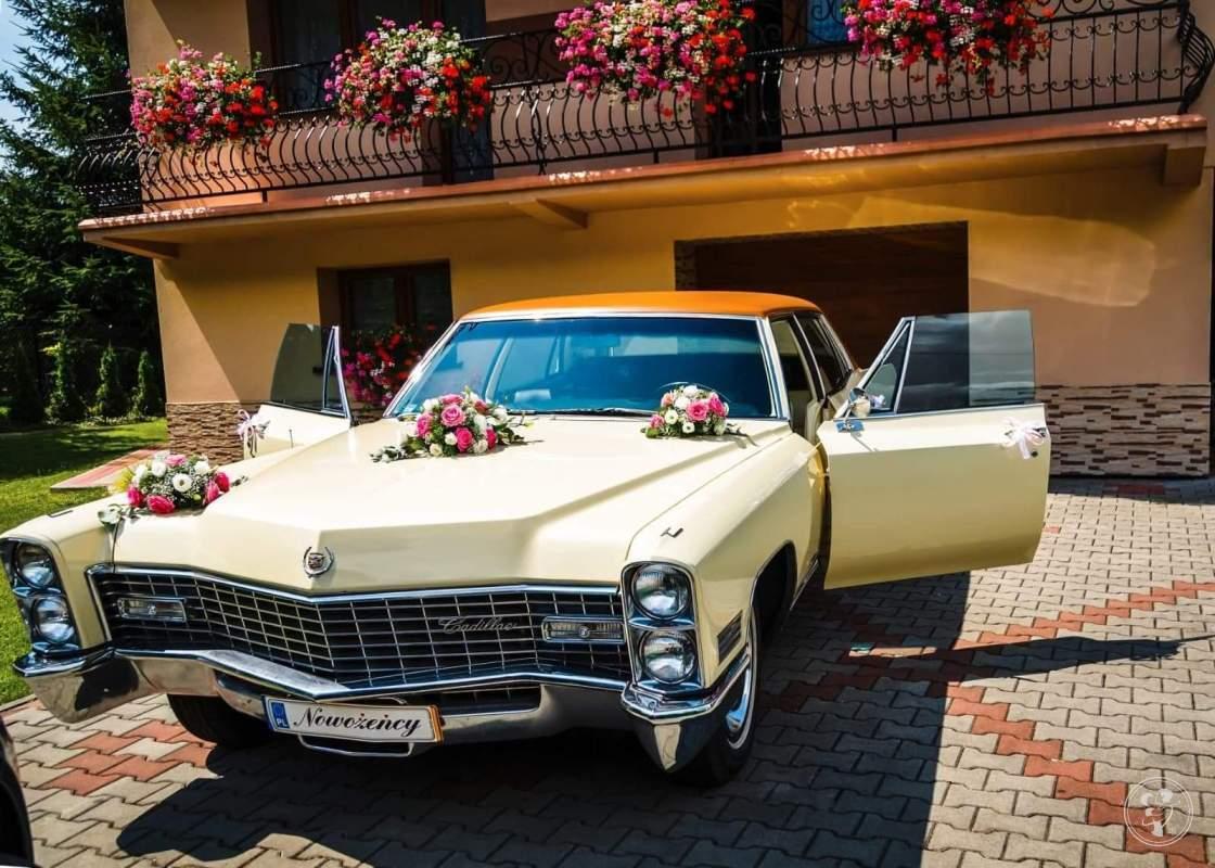 Samochód ,Auto do ślubu Cadillac Fleetwood.Klasyk,zabytkowy., Gliwice - zdjęcie 1